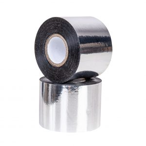 Taśma metalizowana, gilza 1 cal