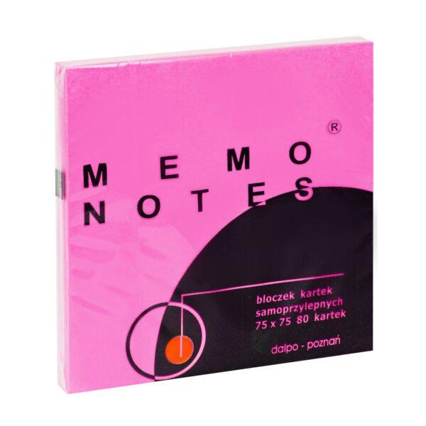 Notes 75x75 mm, 80 kartek, mix brilliant