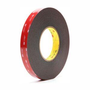 19/33 akryl czarna taśma dwustronna VHB 5925F grubość 0,64 mm
