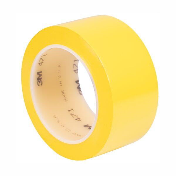 Taśma winylowa 3M 471 żółta