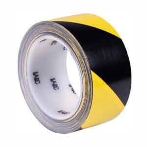 Taśma winylowa 3M 766i żółto-czarna