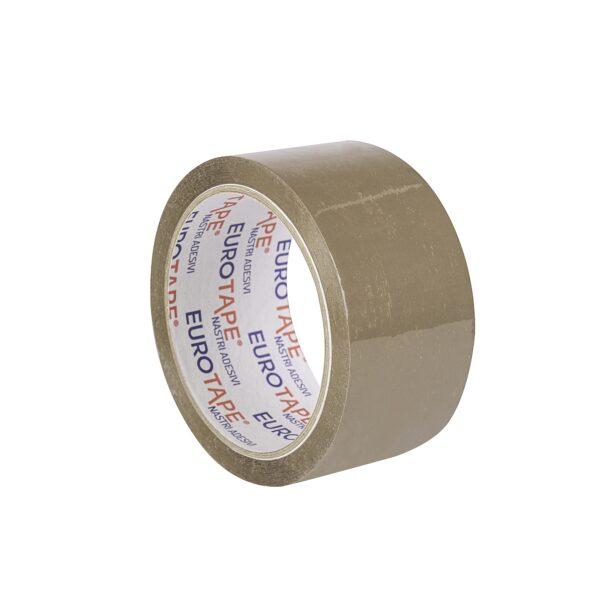 Brązowa taśma pakowa mocna solvent (różne rozmiary)