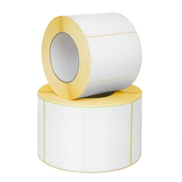 Etykieta termiczna biała 58/43, gilza 1,5 cala 800 szt./rolka