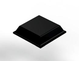 Bumpon kwadratowy 3M SJ-5008, czarny, antypoślizgowy, szerokość 12,7 mm, wysokość 3 mm