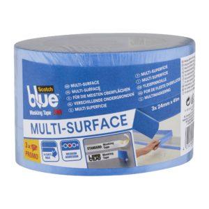 Taśma malarska ScotchBlue uniwersalna 41 m 3-pack (różne szerokości)