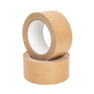 Taśma papierowa pakowa kraft ekologiczna 48/50m - HOT-MELT
