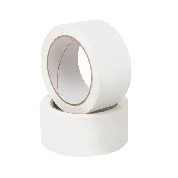 Taśma papierowa pakowa biała ekologiczna 50/50m - HOT-MELT